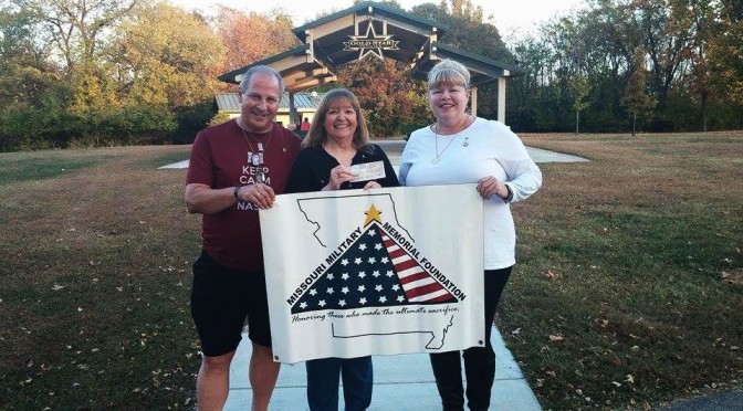 American Gold Star Mothers, Inc – St. Louis Chapter Donates $2500 to the MMMF